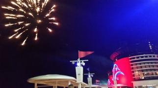 Disney Cruise Line Fireworks