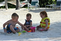 3 angels on Castaway Cay