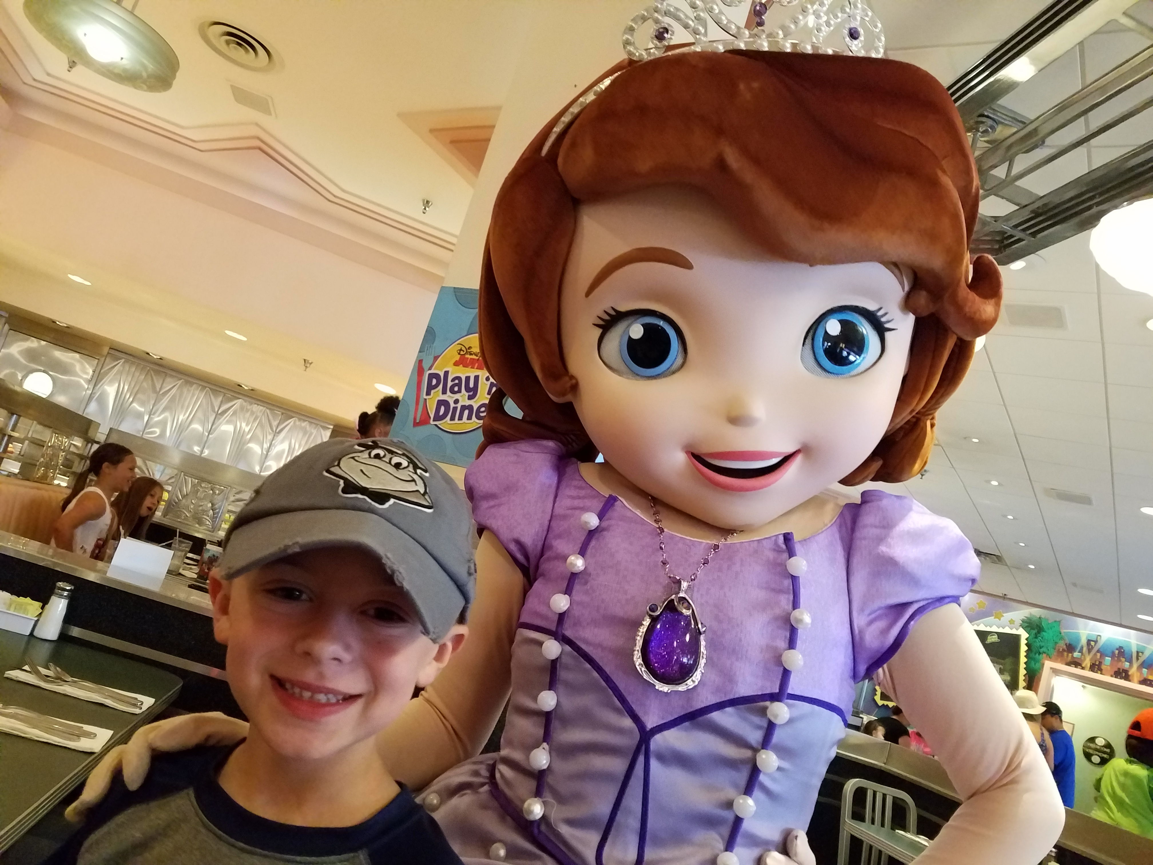 Fabulous breakfast dine with popular disney junior friends handy manny doc mcstuffins jake and a few others kristyandbryce Images