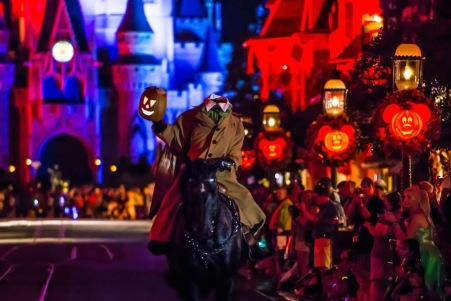 The Headless Horseman (photo by WDW Shutterbug)